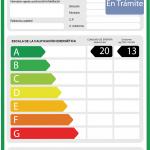 Etiqueta Energetica en Tramite 2 SEDNA (ESP)